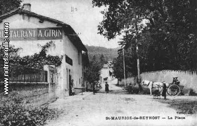 Photos et cartes postales anciennes de saint maurice de - Piscine saint maurice de beynost ...