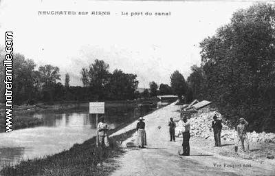 Photos et cartes postales anciennes de neufch tel sur for Restaurant le jardin 02190 neufchatel sur aisne