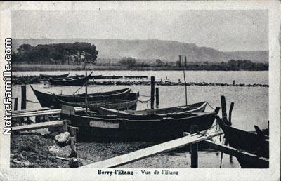 Photos et cartes postales anciennes de berre l 39 tang 13130 for Piscine de berre