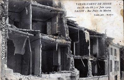 Photos et cartes postales anciennes de salon de provence for Plan cul a salon de provence