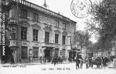 Photos et cartes postales anciennes de salon de provence for Le bureau salon de provence