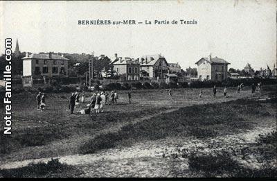 Photos et cartes postales anciennes de berni res sur mer - Office de tourisme bernieres sur mer ...