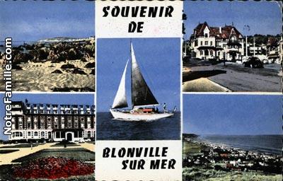 Photos et cartes postales anciennes de blonville sur mer - Office de tourisme blonville sur mer ...