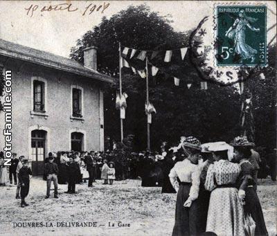 Photos et cartes postales anciennes de douvres la for Piscine douvres la delivrande