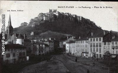 photos et cartes postales anciennes de saint flour 15100. Black Bedroom Furniture Sets. Home Design Ideas