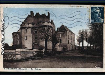 photos et cartes postales anciennes de barbezieux saint hilaire 16300. Black Bedroom Furniture Sets. Home Design Ideas