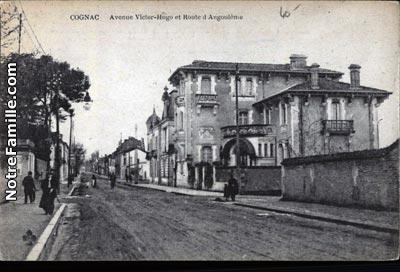 Photos et cartes postales anciennes de cognac 16100 for Plan de cognac