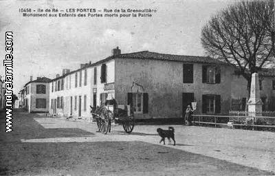 Les portes en r 17880 charente maritime la ville les portes en r sa mairie et son - Vente maison les portes en re ...