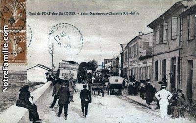 Photos et cartes postales anciennes de port des barques 17730 - Hotel port des barques charente maritime ...