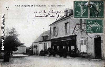 la chapelle saint ursin 18570 cher la ville la chapelle saint ursin sa mairie et son. Black Bedroom Furniture Sets. Home Design Ideas