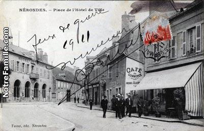 Plan De La Ville Flavigny Cher