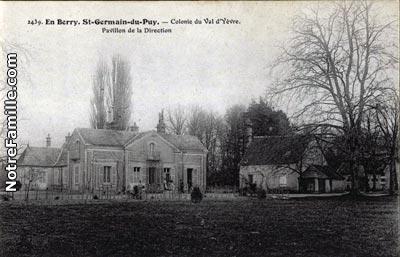 photos et cartes postales anciennes de saint germain du puy 18390. Black Bedroom Furniture Sets. Home Design Ideas