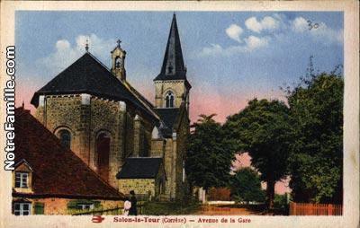 Photos et cartes postales anciennes de salon la tour 19510 for Salon la tour