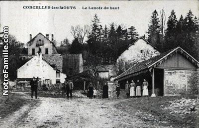 Photos et cartes postales anciennes de corcelles les monts for Corcelles les monts