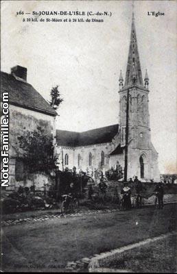 Photos et cartes postales anciennes de saint jouan de l for Garage galivel saint jouan de l isle