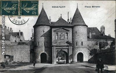 Photos et cartes postales anciennes de besan on 25000 for Code postal de besancon