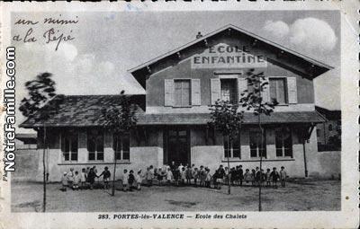 Photos et cartes postales anciennes de portes l s valence for Restaurant le loft portes les valence