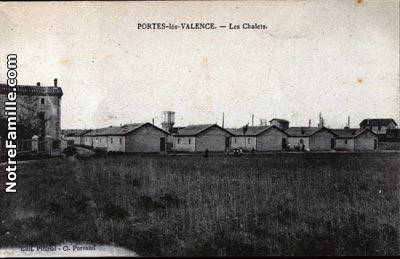 Photos et cartes postales anciennes de portes l s valence - Descours et cabaud portes les valence ...