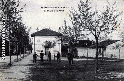 Photos et cartes postales anciennes de portes l s valence 26800 - Mediatheque portes les valence ...