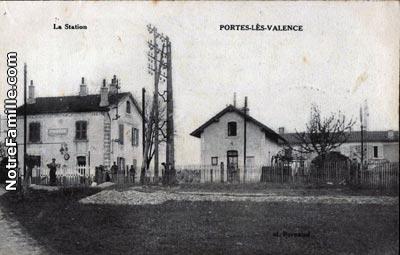 Photos et cartes postales anciennes de portes l s valence - Agence immobiliere portes les valence ...