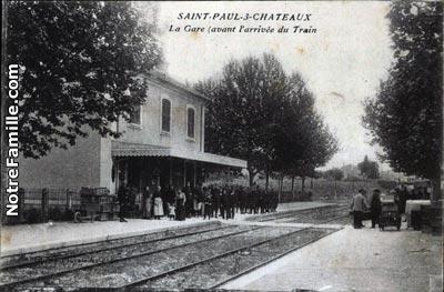 Photos et cartes postales anciennes de saint paul trois - Saint paul trois chateaux piscine ...