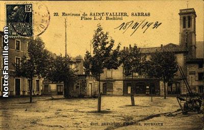 Photos et cartes postales anciennes de saint vallier 26240 for Piscine de saint vallier