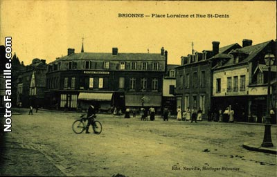 Photos et cartes postales anciennes de brionne 27800 for 3f haute normandie