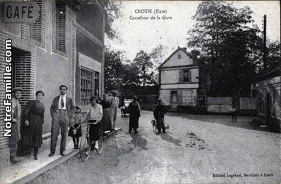 Photos et cartes postales anciennes de croth 28520 for 3f haute normandie