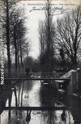 Photos et cartes postales anciennes de francheville 27160 for 3f haute normandie