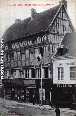 Photos et cartes postales anciennes de gaillon 27600 for 3f haute normandie