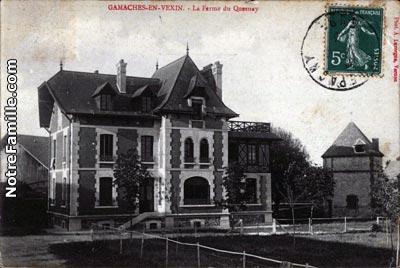 Photos et cartes postales anciennes de gamaches en vexin for 3f haute normandie