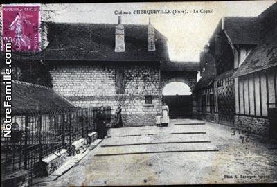 Photos et cartes postales anciennes de herqueville 27430 for 3f haute normandie