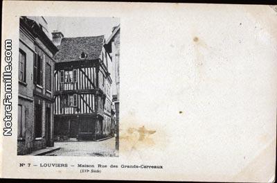 photos et cartes postales anciennes de louviers 27400. Black Bedroom Furniture Sets. Home Design Ideas