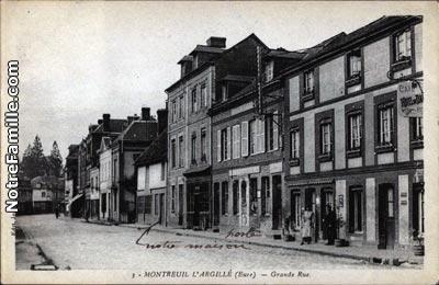 Plan Ville Saint Agnan  Grande Rue