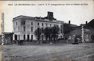 Photos et cartes postales anciennes de le neubourg 27110 for Piscine le neubourg