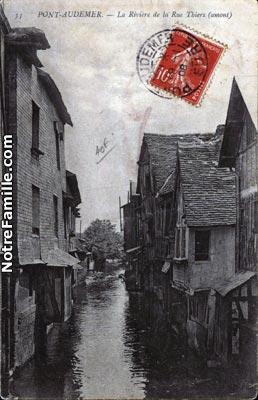 Photos et cartes postales anciennes de pont audemer 27500 for Garage ad pont audemer