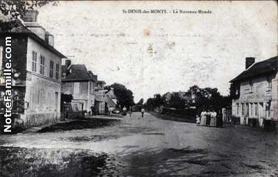photos et cartes postales anciennes de saint denis des monts 27520. Black Bedroom Furniture Sets. Home Design Ideas