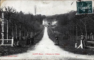 Photos et cartes postales anciennes de saint just 27950 for 3f haute normandie