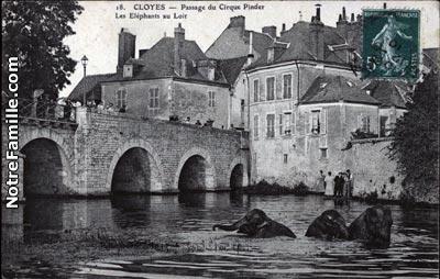 Photos et cartes postales anciennes de cloyes sur le loir for Garage cassonnet cloyes sur le loir