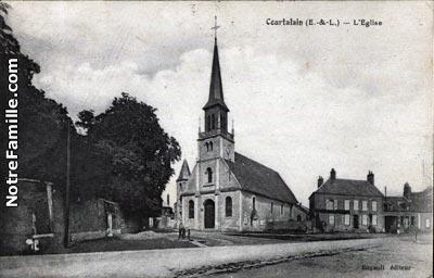 Photos et cartes postales anciennes de courtalain 28290 for Garage bailleau le pin