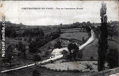 Photos et cartes postales anciennes de ch teauneuf du faou - Office du tourisme chateauneuf du faou ...