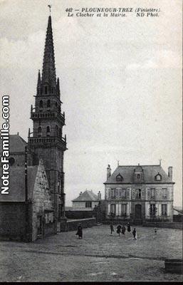 Photos et cartes postales anciennes de ploun our trez 29890 - Plouneour trez office tourisme ...