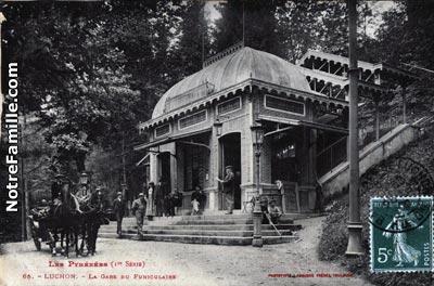 Photos et cartes postales anciennes de bagn res de luchon - Office de tourisme de bagneres de luchon ...