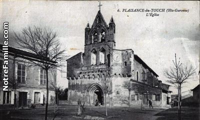 Photos et cartes postales anciennes de plaisance du touch for Sevilla auto plaisance du touch