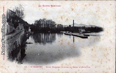 Photos et cartes postales anciennes de saint martory 31360 for 55 haute garonne