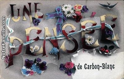 Photos et cartes postales anciennes de carbon blanc 33560 for Piscine carbon blanc
