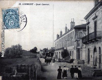 photos et cartes postales anciennes de lormont 33310. Black Bedroom Furniture Sets. Home Design Ideas
