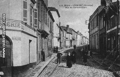 Photos et cartes postales anciennes de lormont 33310 for Piscine carbon blanc