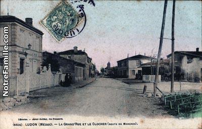 Photos et cartes postales anciennes de ludon m doc 33290 for Restaurant parempuyre