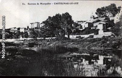 Photos et cartes postales anciennes de castelnau le lez 34170 - Piscine castelnau le lez ...